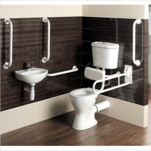 Estuary Bathrooms - Loire Low Level Doc M Pack With Backrest