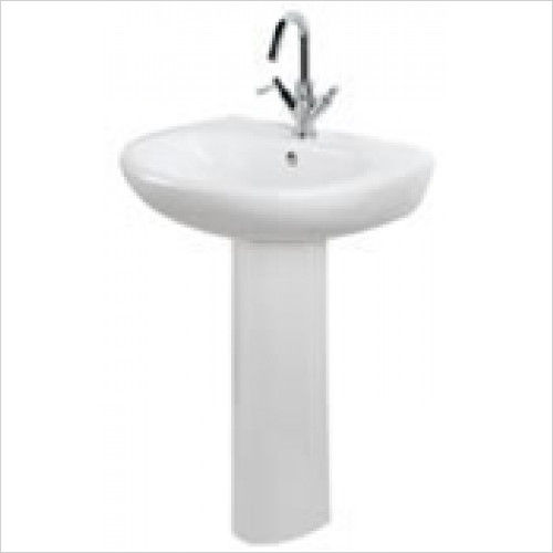 Estuary Bathrooms - Temptation Basin 575mm 1 Tap Hole