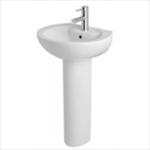 Estuary Bathrooms - Ferrara Basin 610mm 1 Tap Hole