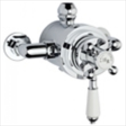 Estuary Bathrooms - Traditional Dual Exposed Thermostatic Shower Valve