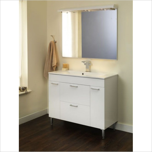 Estuary Bathrooms - Faro 1000mm Cast Top