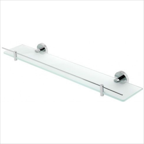 Estuary Accessories - Genoa Glass Shelf With Barrier