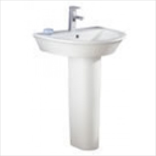 Estuary Bathrooms - Maestro Basin 685mm 1 Tap Hole