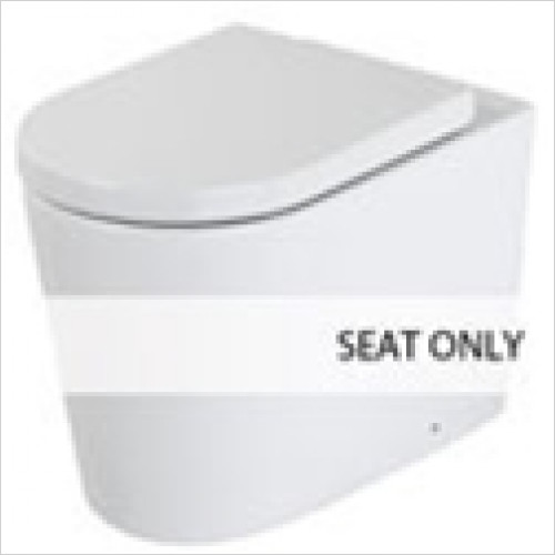 Estuary Bathrooms - Metro Soft Close Seat For Back To Wall Pan