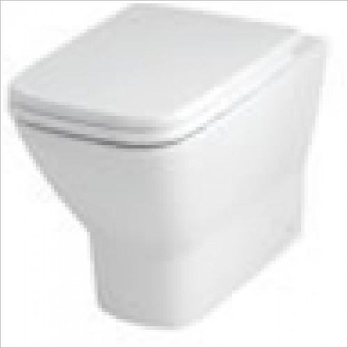 Estuary Bathrooms - Wingrave Back To Wall Soft Close Seat