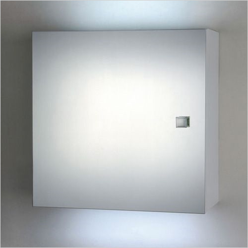 Estuary Accessories - Mirror Cabinet 400 x 400 x 180mm With LED