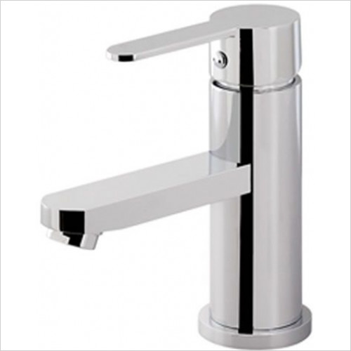 Estuary Bathrooms - Prado 800 Mono Basin Mixer, Clicker Waste