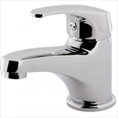 Estuary Bathrooms - Prado 100 Mono Basin Mixer, Clicker Waste