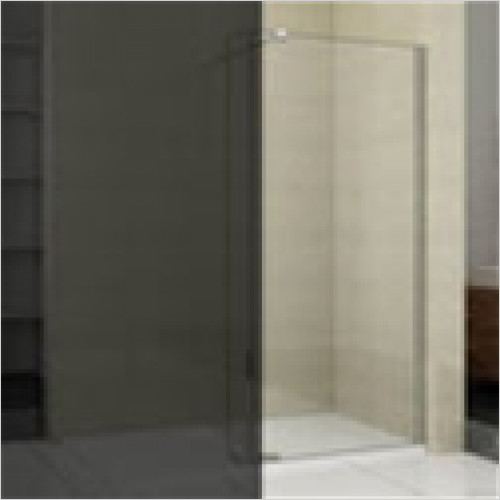 Estuary Bathrooms - Valliant Side Walk-In 900 x 1950mm With Support Bar 8mm