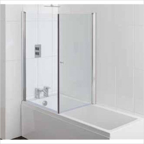 Estuary Bathrooms - Volente 1 Screen Across Bath For 700mm