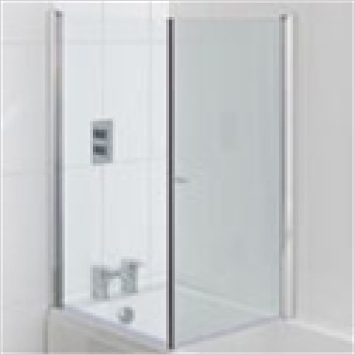 Estuary Bathrooms - Volente 1 Screen Across Bath For 800mm