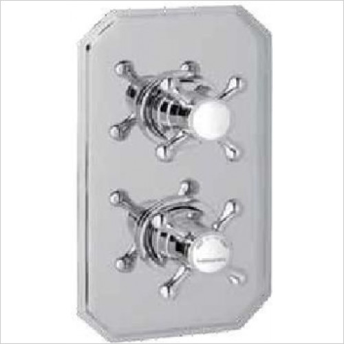 Estuary Bathrooms - Twin Control Shower Valve Only
