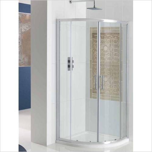 Estuary Bathrooms - Cotswold Vulcan Quadrant Enclosure 800mm