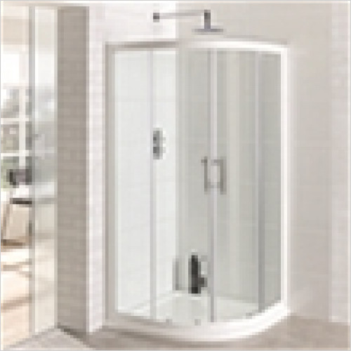 Estuary Bathrooms - Vantage Easy Clean Quadrant Enclosure 800mm