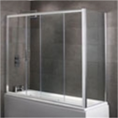 Estuary Bathrooms - Volente Over Bath Slider Door 6mm EC Glass 1790 x 1475mm